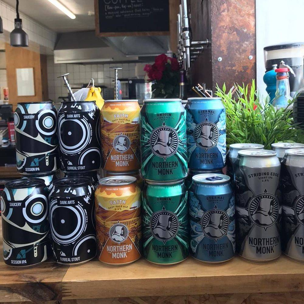 Northern Monk and Magic Rock Beers