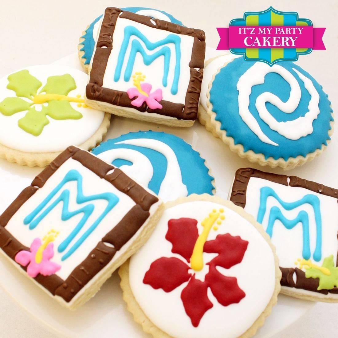 Moana cookies Milwaukee