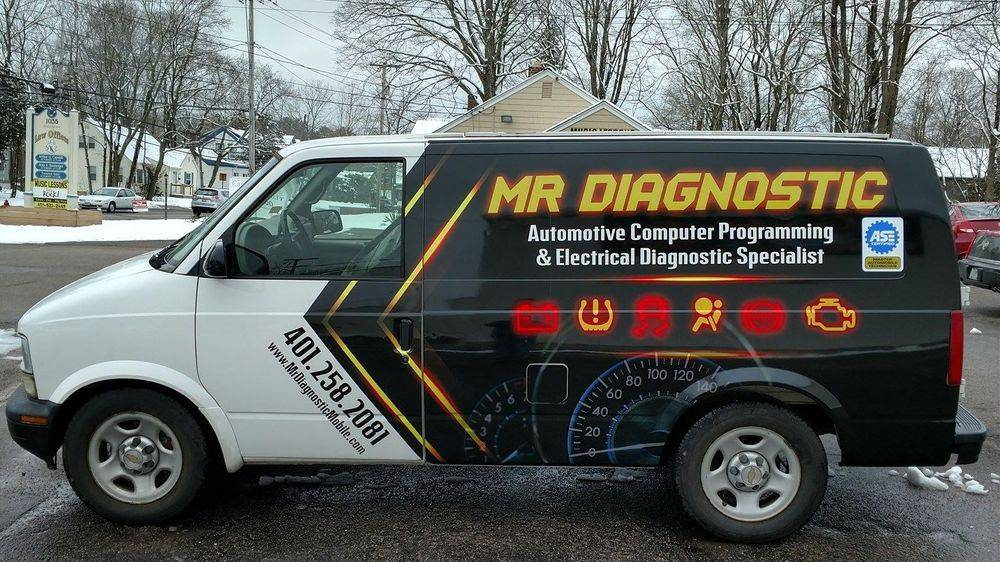 Mr Diagnostics Business Card Electronic Specialist