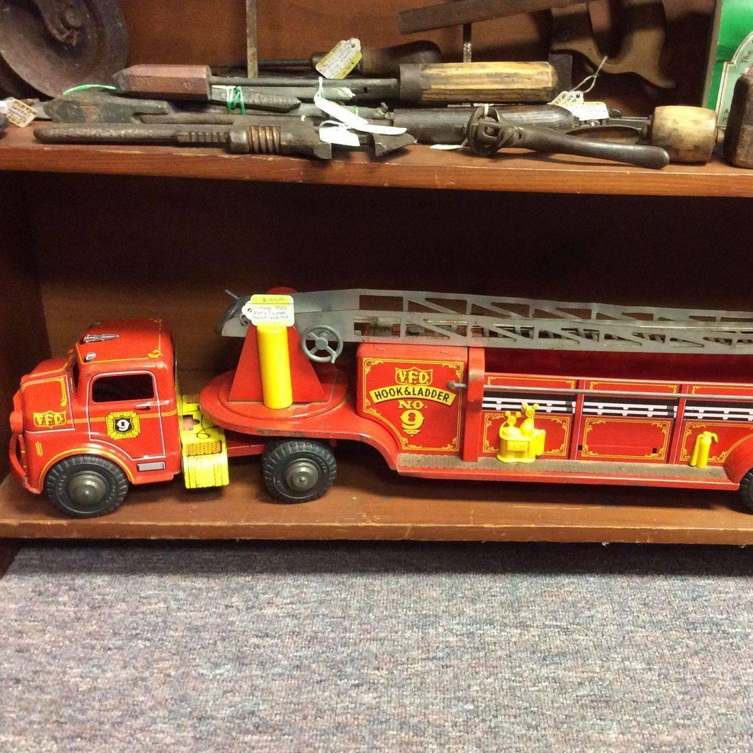1950's Marx Lumar Fire Truck   $195.00