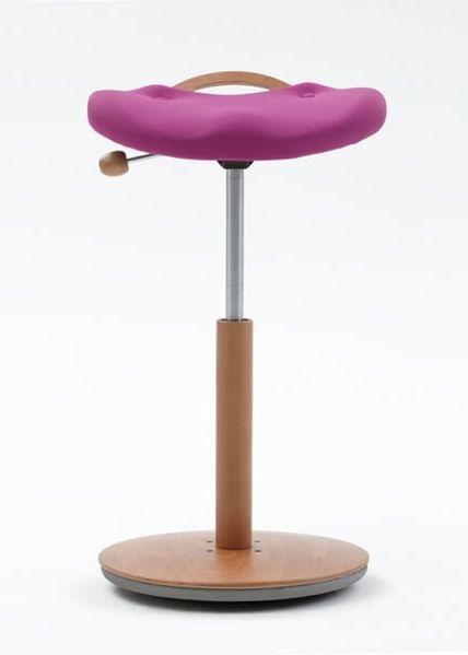 Sgabello ergonomico basculante Moizi , 16