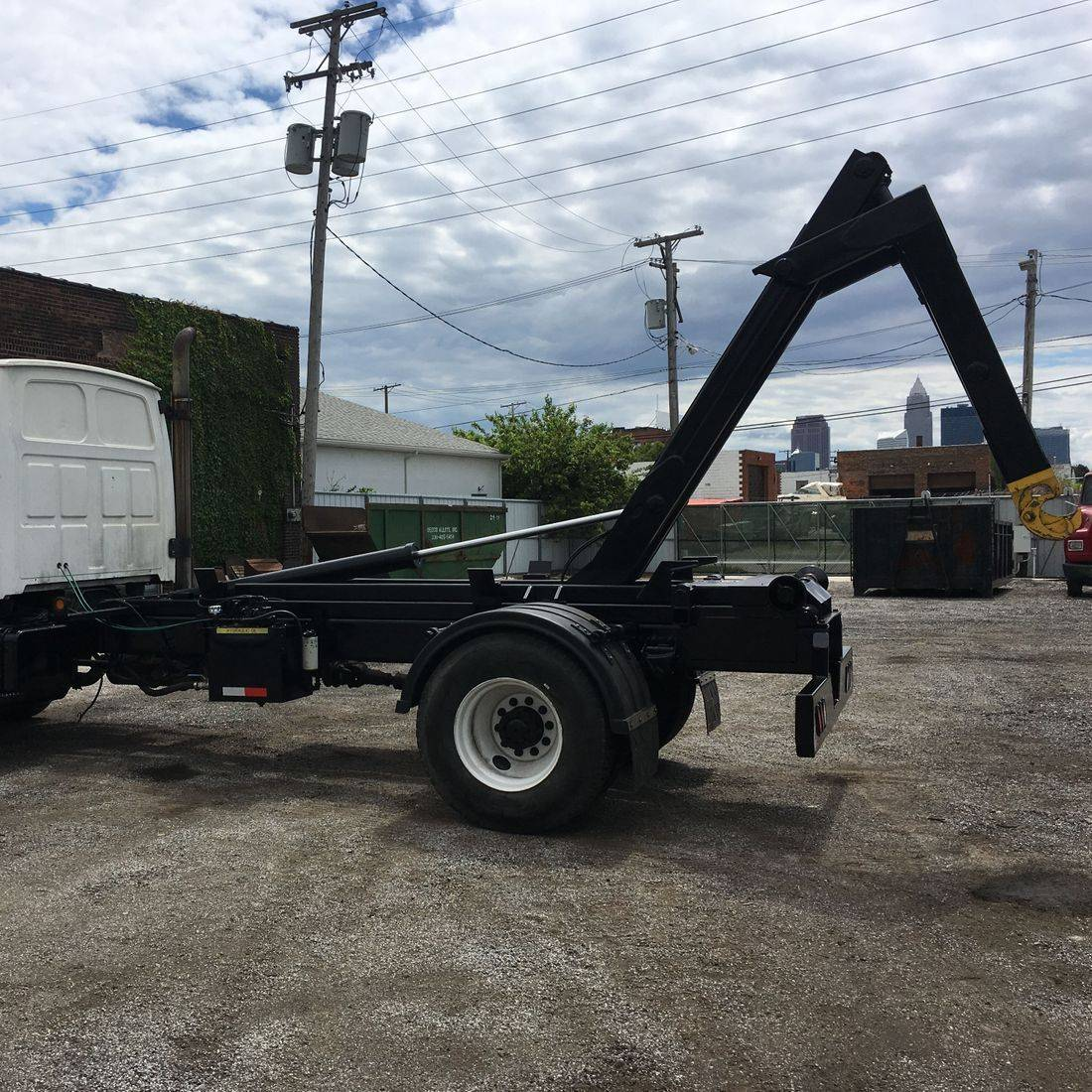 Frato Products - Hook Lift Truck Body Install