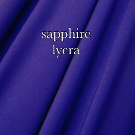 sapphire lycra