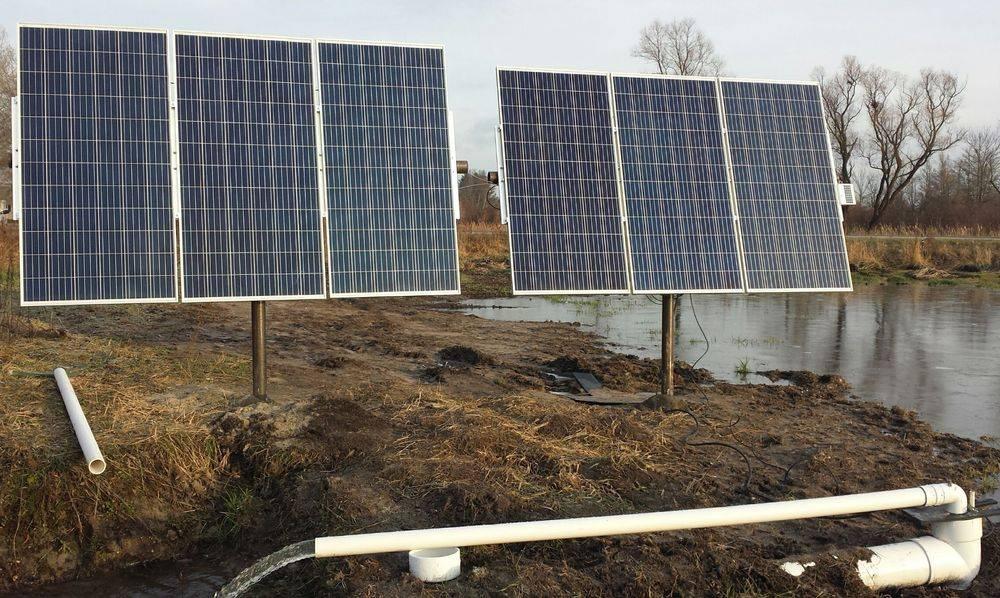 michigan solar pumps