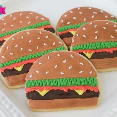 Cheeseburger cookies Milwaukee