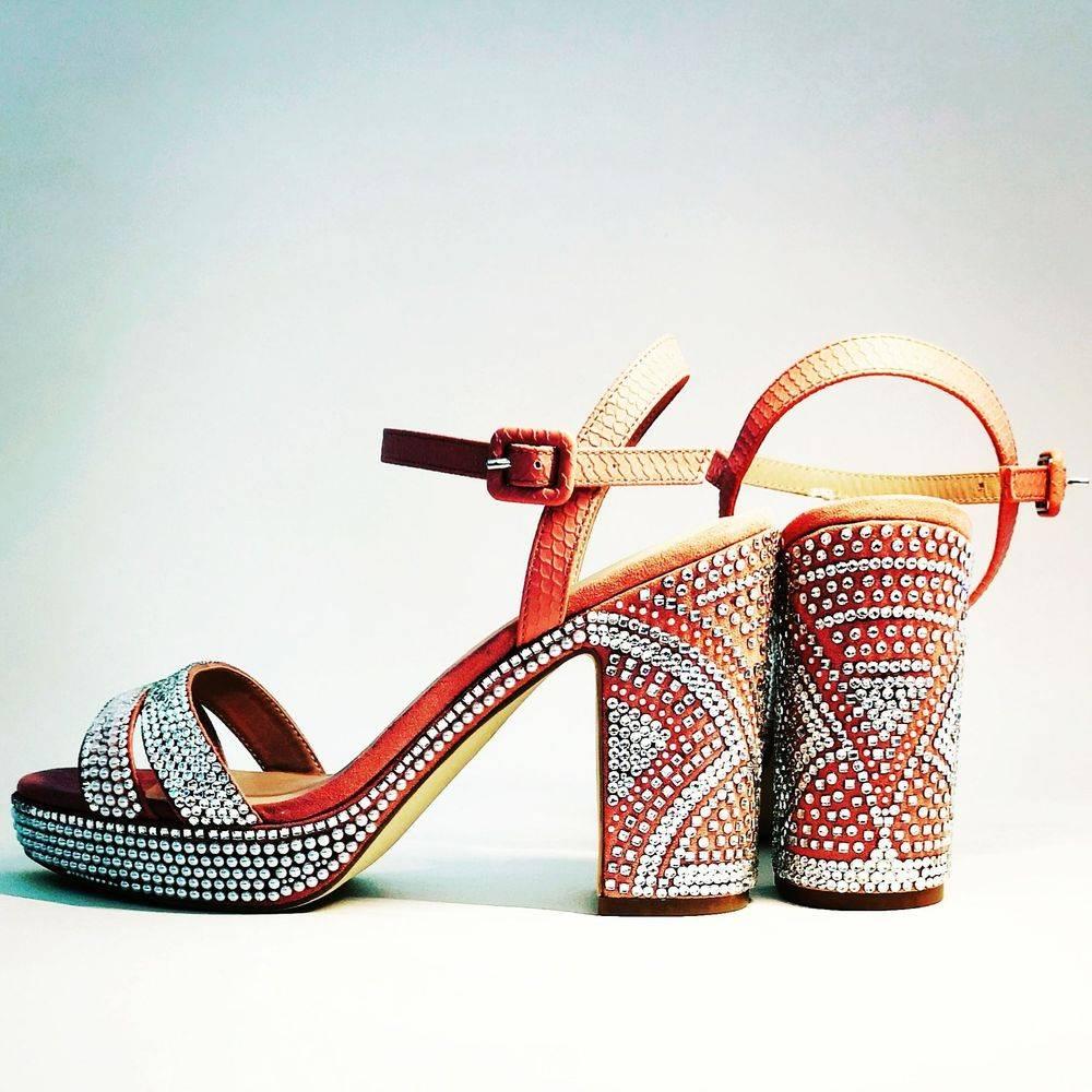customised embellished crystal shoes wedding bride bridal bridesmaid nicky rox viviienne westwood