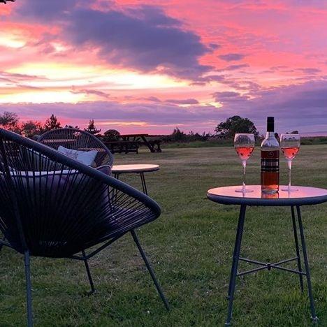 Sunset at Glen Truan Golf Spa & Country Club, Isle of Man