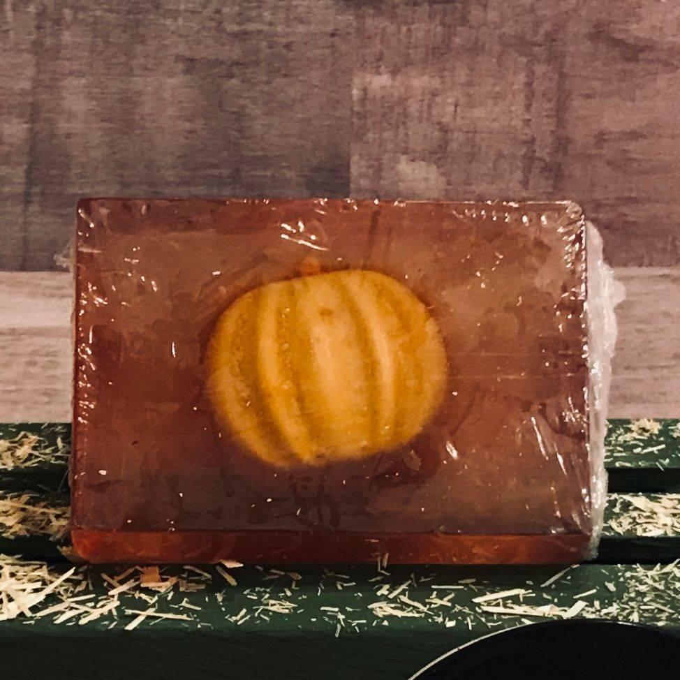 Pumpkin, Vanilla, Honey, Bar Soap, Fall. Seasonal,