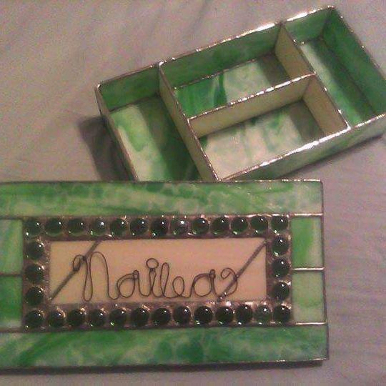 Stained Glass Custom Order Scranton Handmade Small Business Personalized Gifts