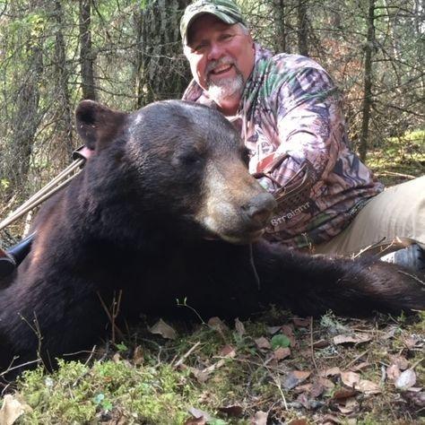hunting and black bear hunts, black bear, hunting, Manitoba Canada