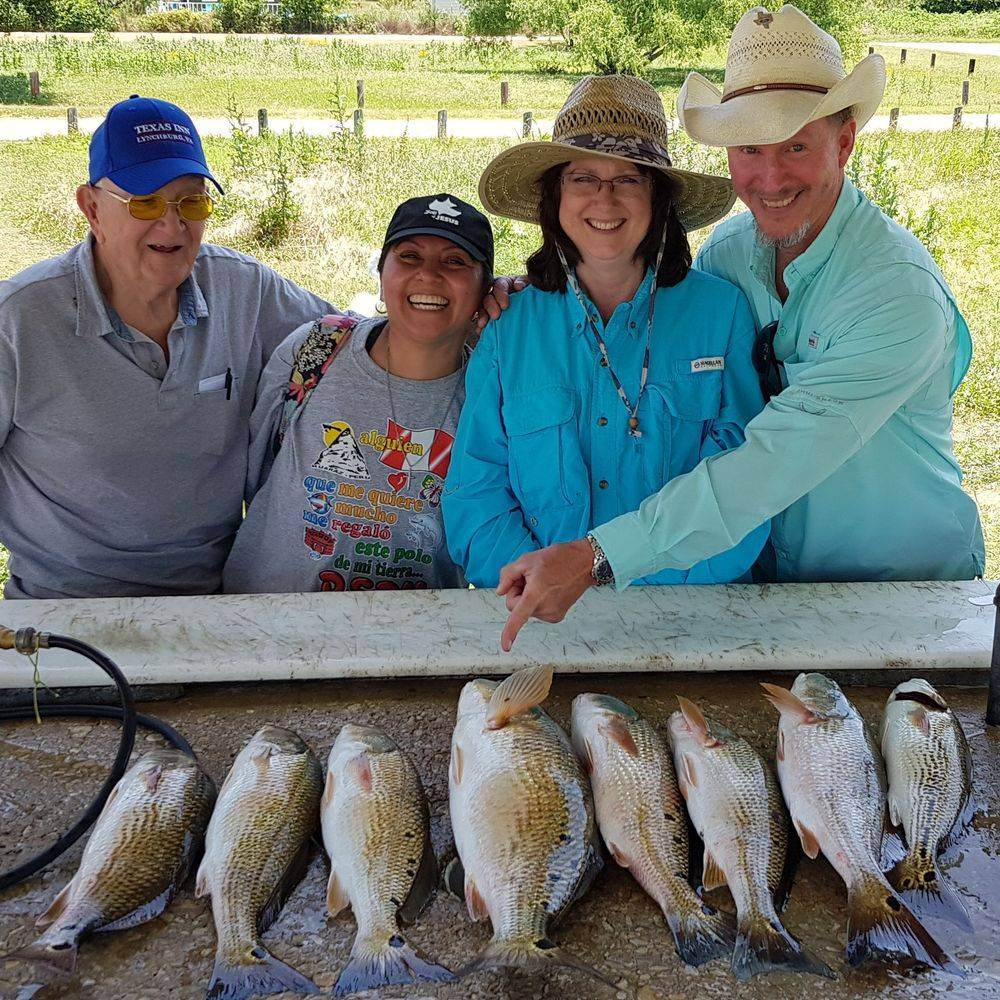 San Antonio Fishing Charters Trips'  Calaveras Lake Fishing Guides