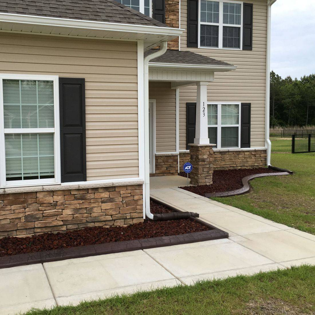 Concrete edging in Pikeville NC