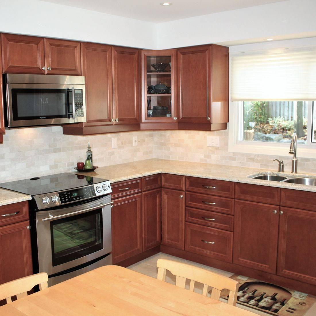 Sibra Kitchens Markham Toronto maple cabinets