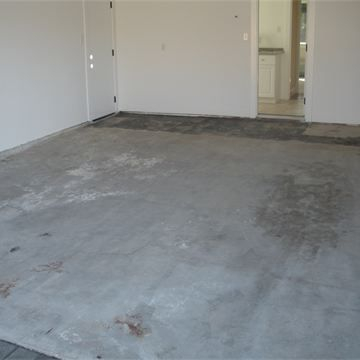 Before- Damaged Garage