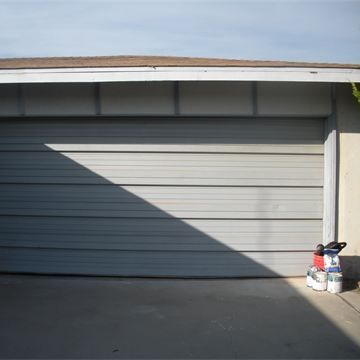 Before- Garage Door
