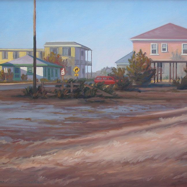 KCrenshaw - Afternoon Shadows  oil on linen 22 x 30