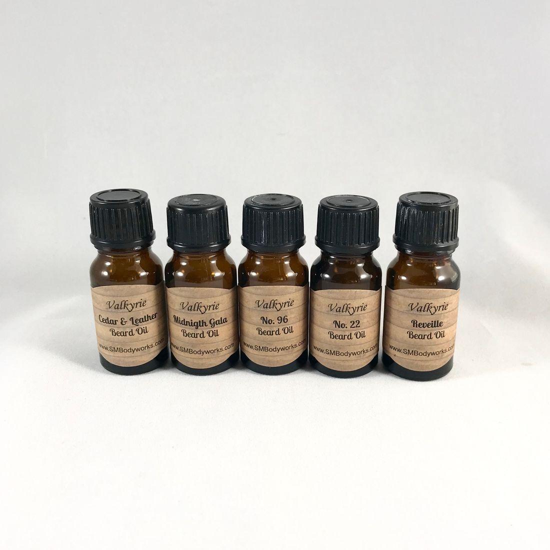 Beard Oil Sampler, Trial Size, veteran owned, Natural Ingredients