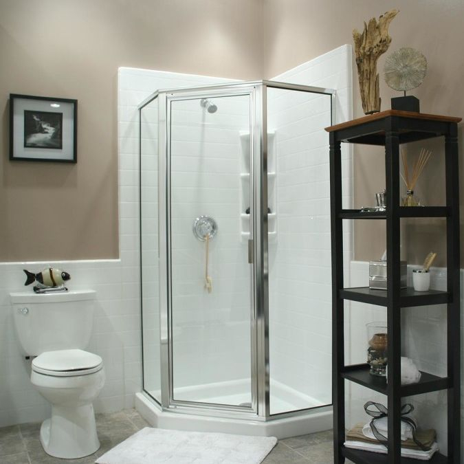 acrylic showers, walk in showers, bath fitter showers,