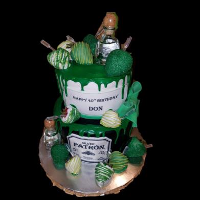 Patron Drip Cake