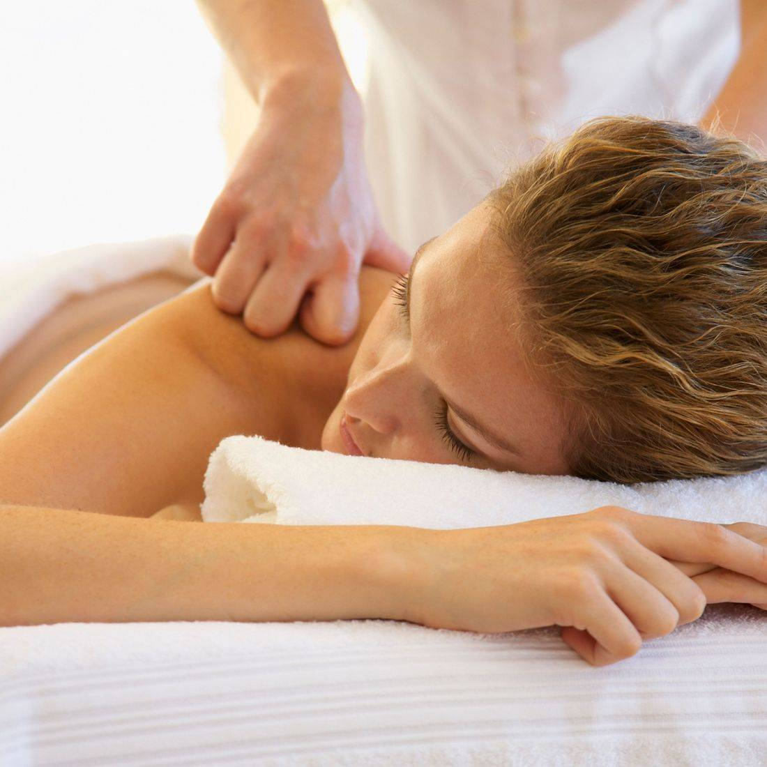 Linda Rea, LMT of Professional Therapeutic Massage specializes in trigger point release.