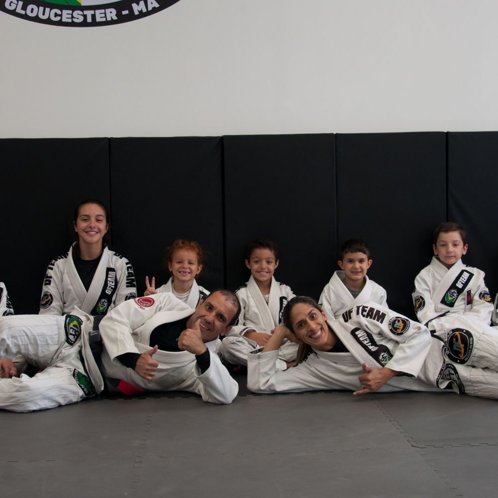 Brazilian jiu-Jitsu kids