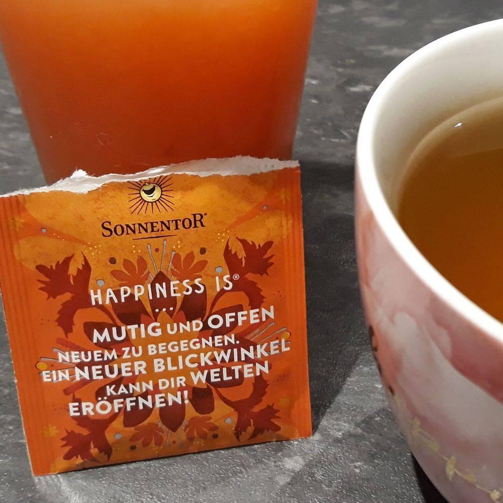 Sonnentor Tee Sprüche Genuß