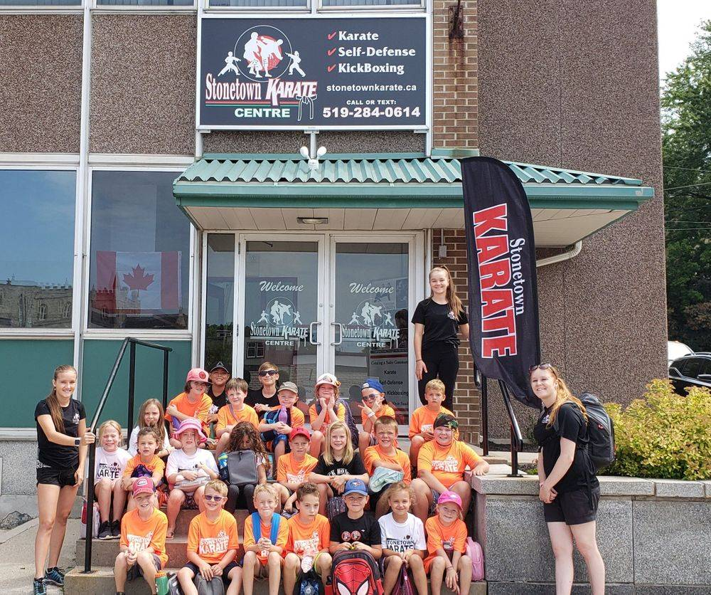 Kids Karate and Martial Arts Classes at 29 Wellington Street South St. Marys, ON N4X 1A4