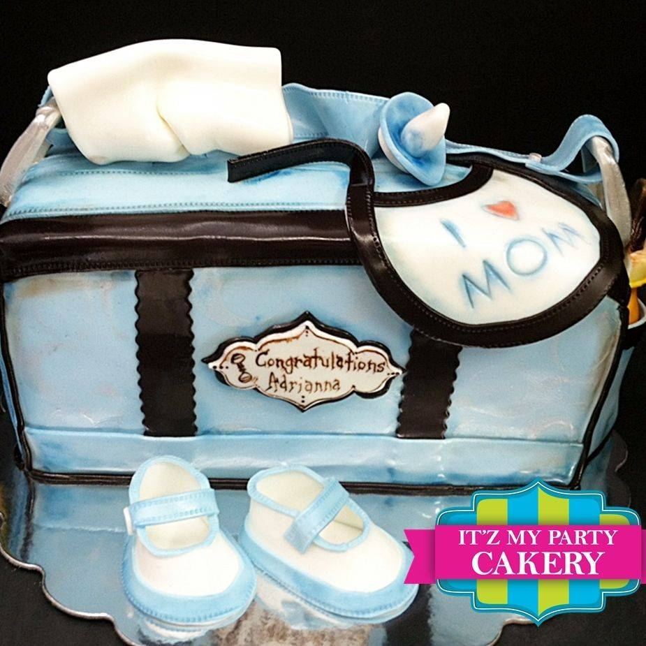 Baby Diaper bag Dimensional Cake Milwaukee