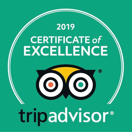 Napa Sonoma Wine Tasting Driver 4th Yearly TripAdvisor Award of Excellence for 2019.