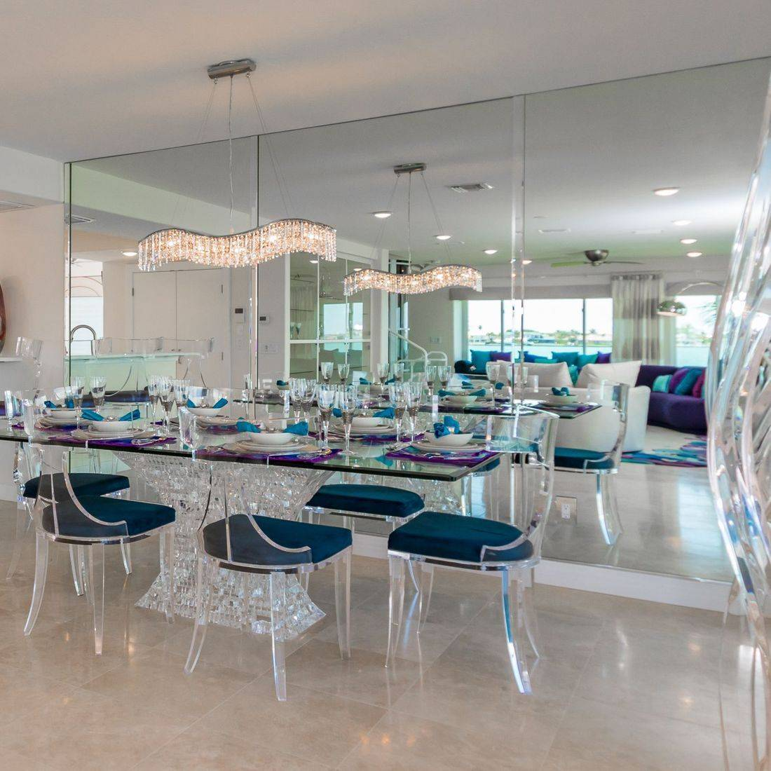 Lucite Furniture, Dining Area