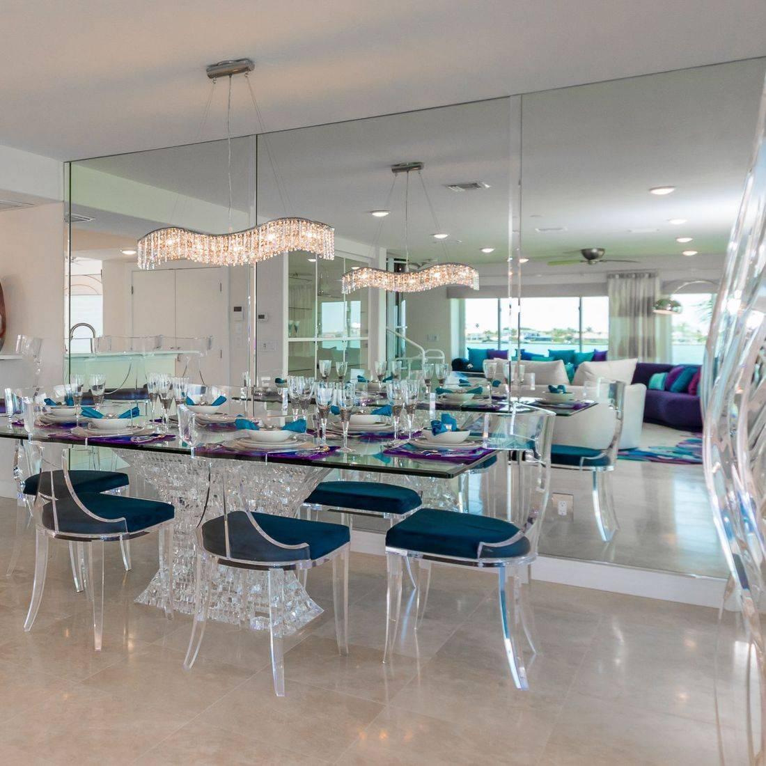 Lucite Furniture, Dining Area