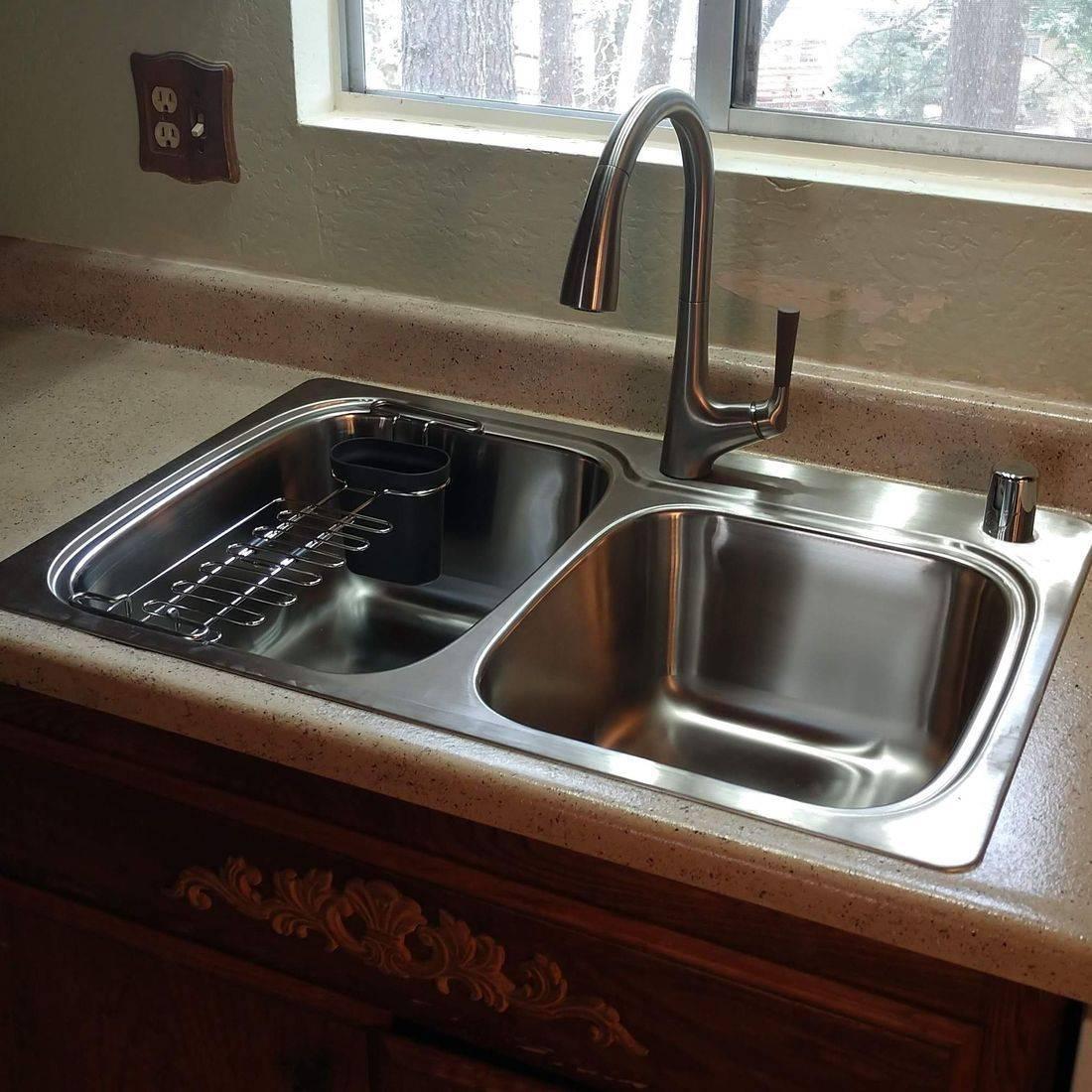 New Kitchen Counter-top & Sink