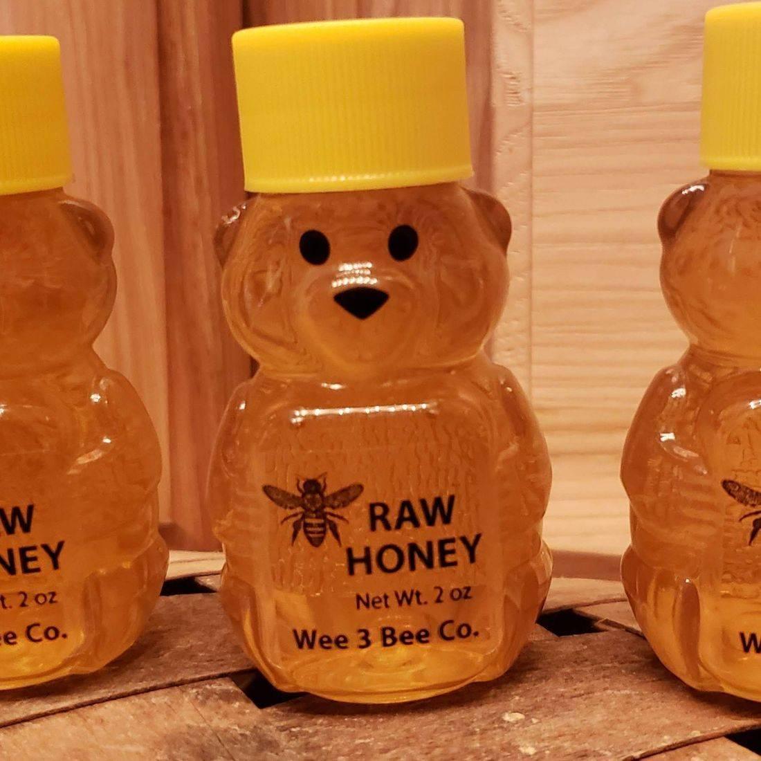 2 oz. Raw Honey