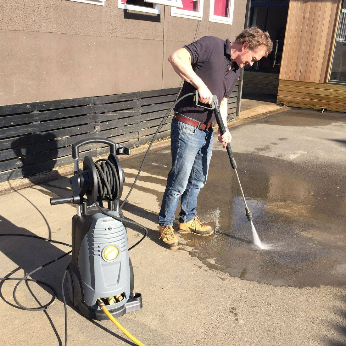 Pressure Washing and Jet Washing in Leicester