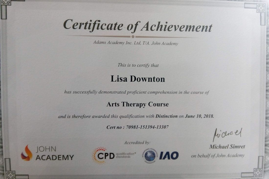 Certificate  Arts Therapy Course