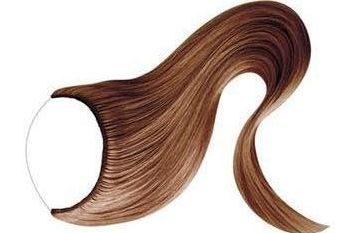 Flip In Hair Extensions Hair Extensions on a wire