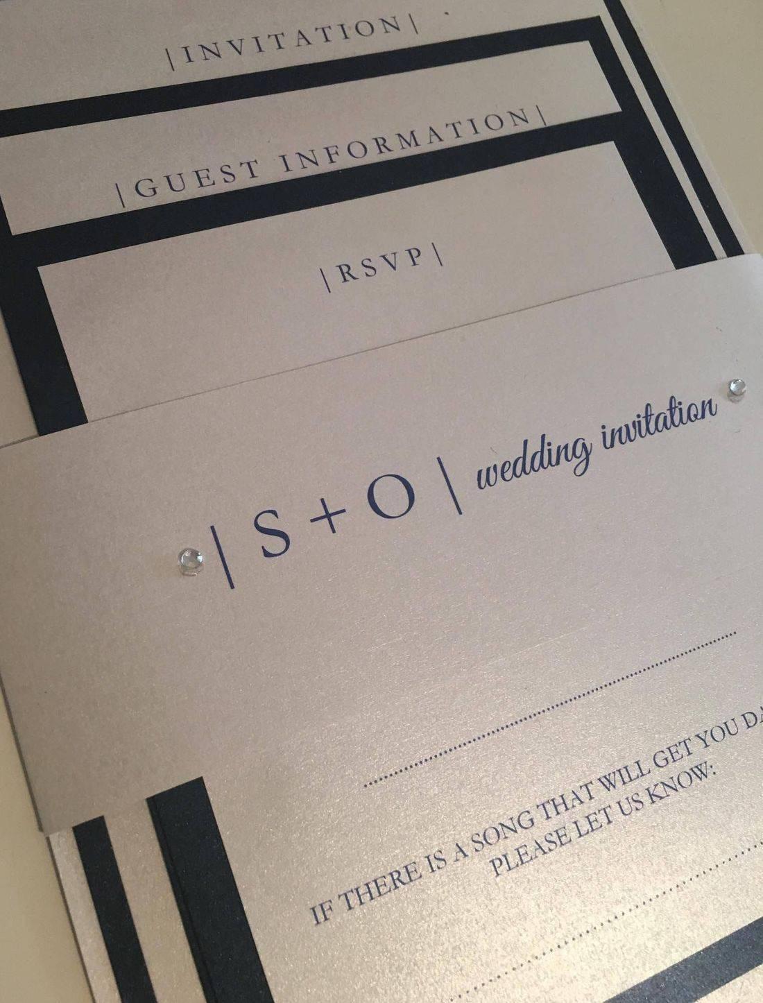 gatefold wedding invitation, luxury wedding invitation, wedding invitations