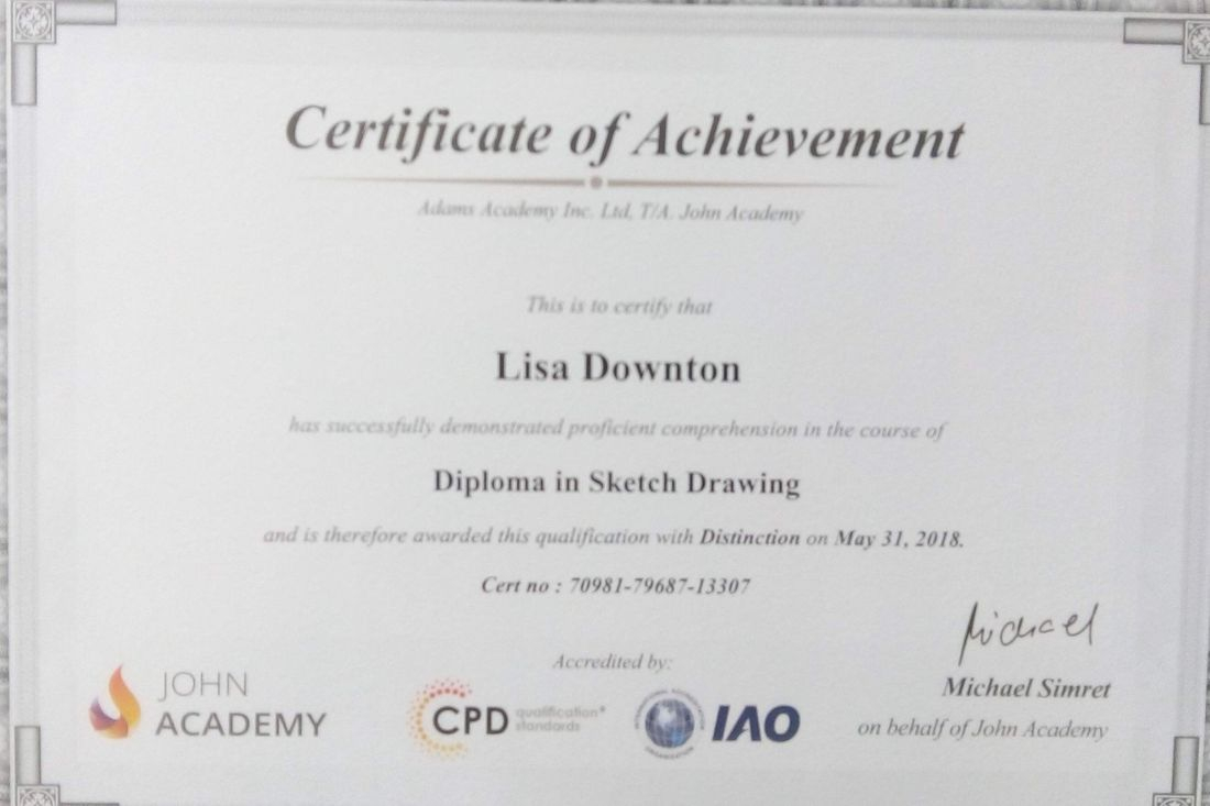 Diploma in Sketch Drawing Certificate