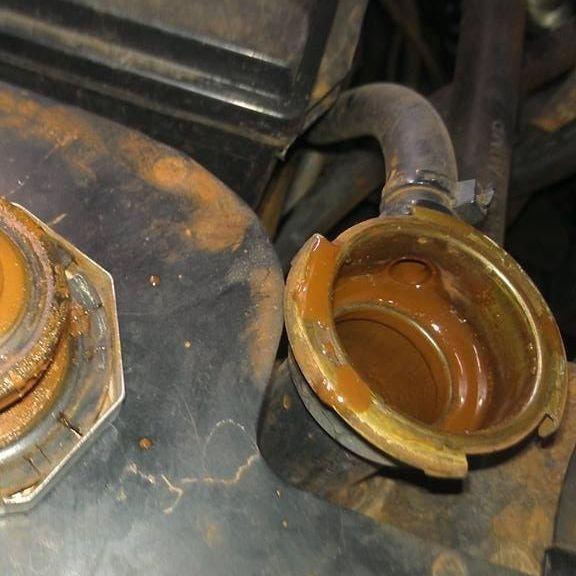 Radiator flush Cooling system maintenace heater core