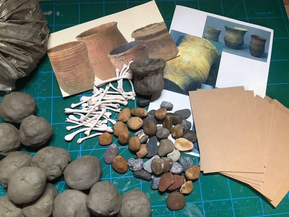 Stone Age to iron Age Pottery School ks2 Resources Primary