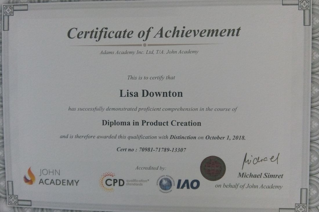 Diploma in Product Creation Certificate