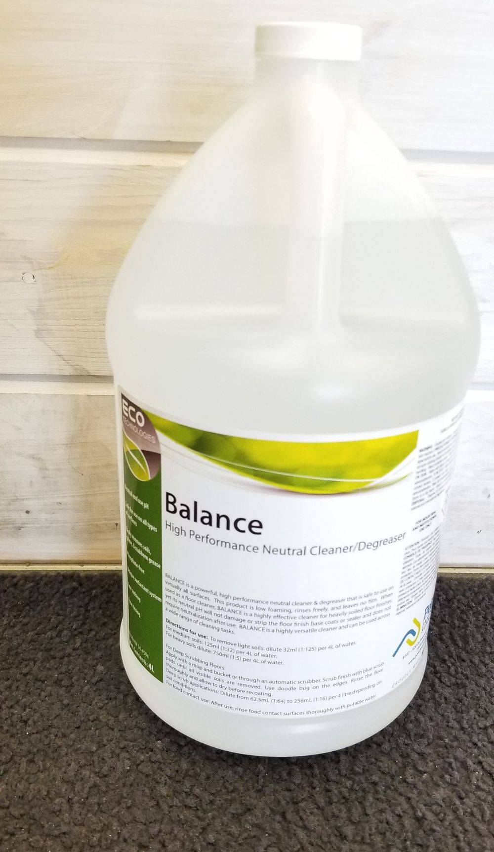 Balance High Performance Neutral Deep Scrub Concentrated Cleaner