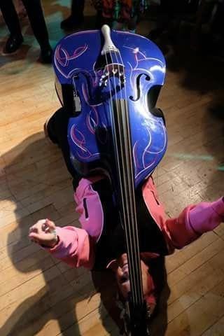 Best Female Double Bass Player, Little Miss Blue Bass