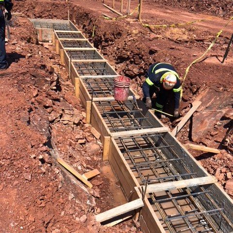 Installing rebar for Integrate Ashburn Project