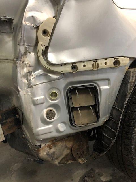 2008 Nissan Rogue Auto body repair