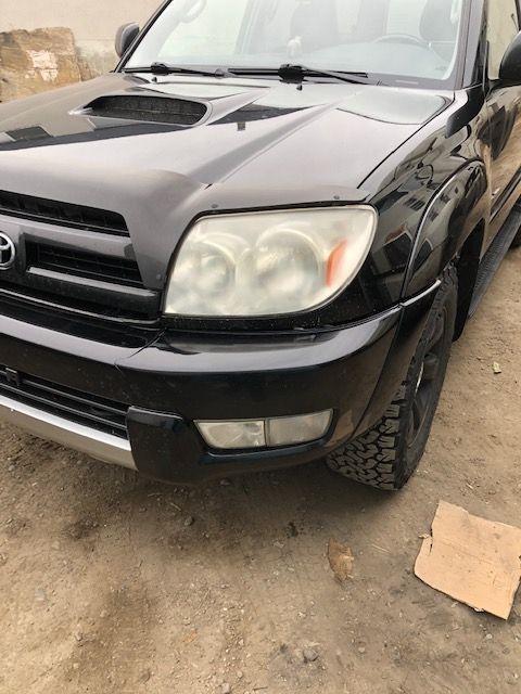 2006 Toyota Truck front bumper repair
