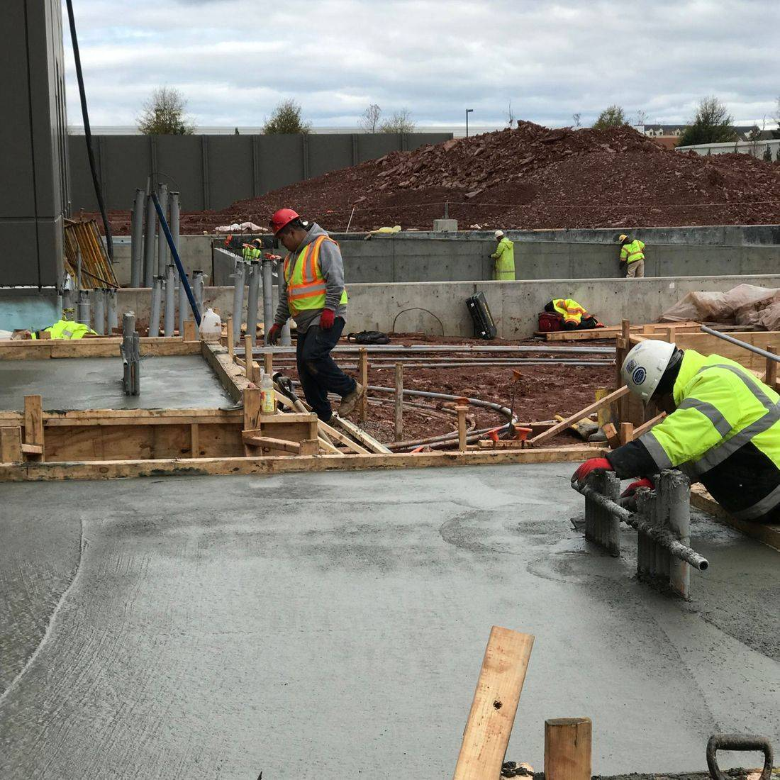 concrete construction | Integrate Ashburn