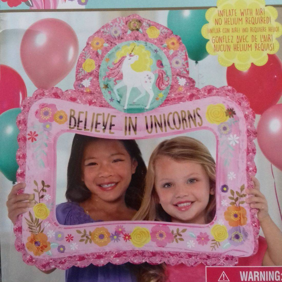 BELIEVE IN UNICORNS SELFIE FRAME