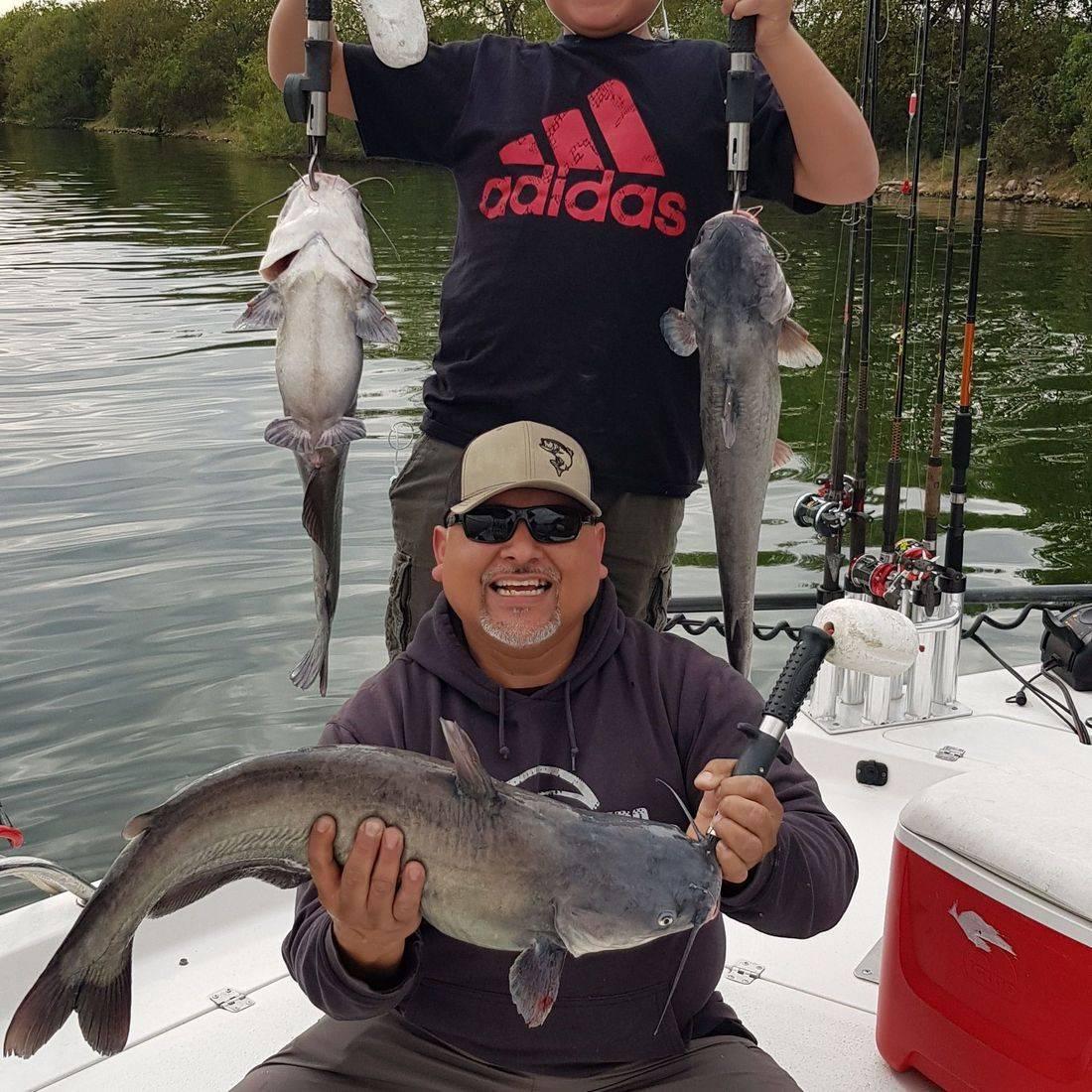 San Antonio Fishing, Canyon Lake Fishing, White Bass Fishing