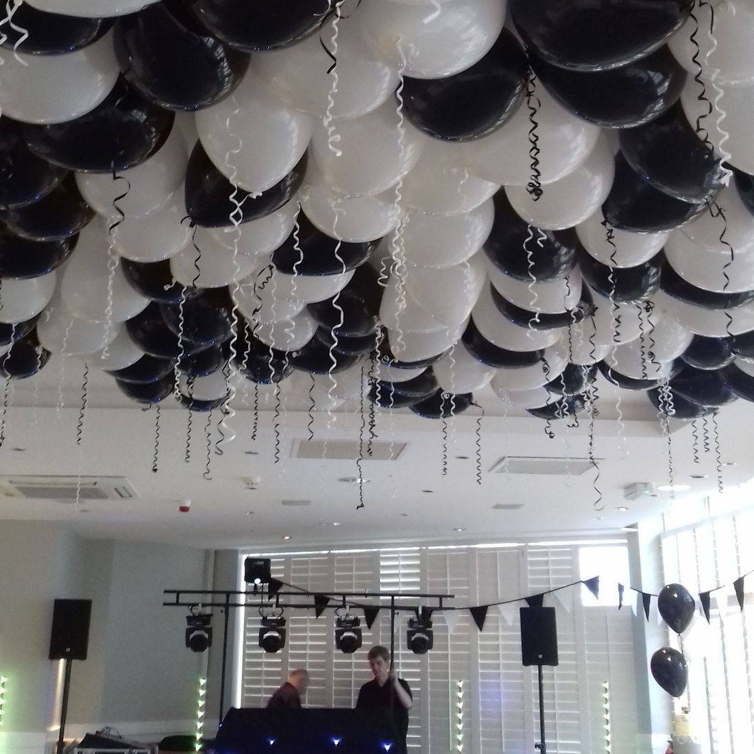 wedding ceiling balloons
